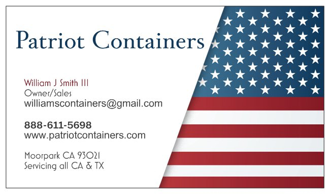 Contact Patriot Containers